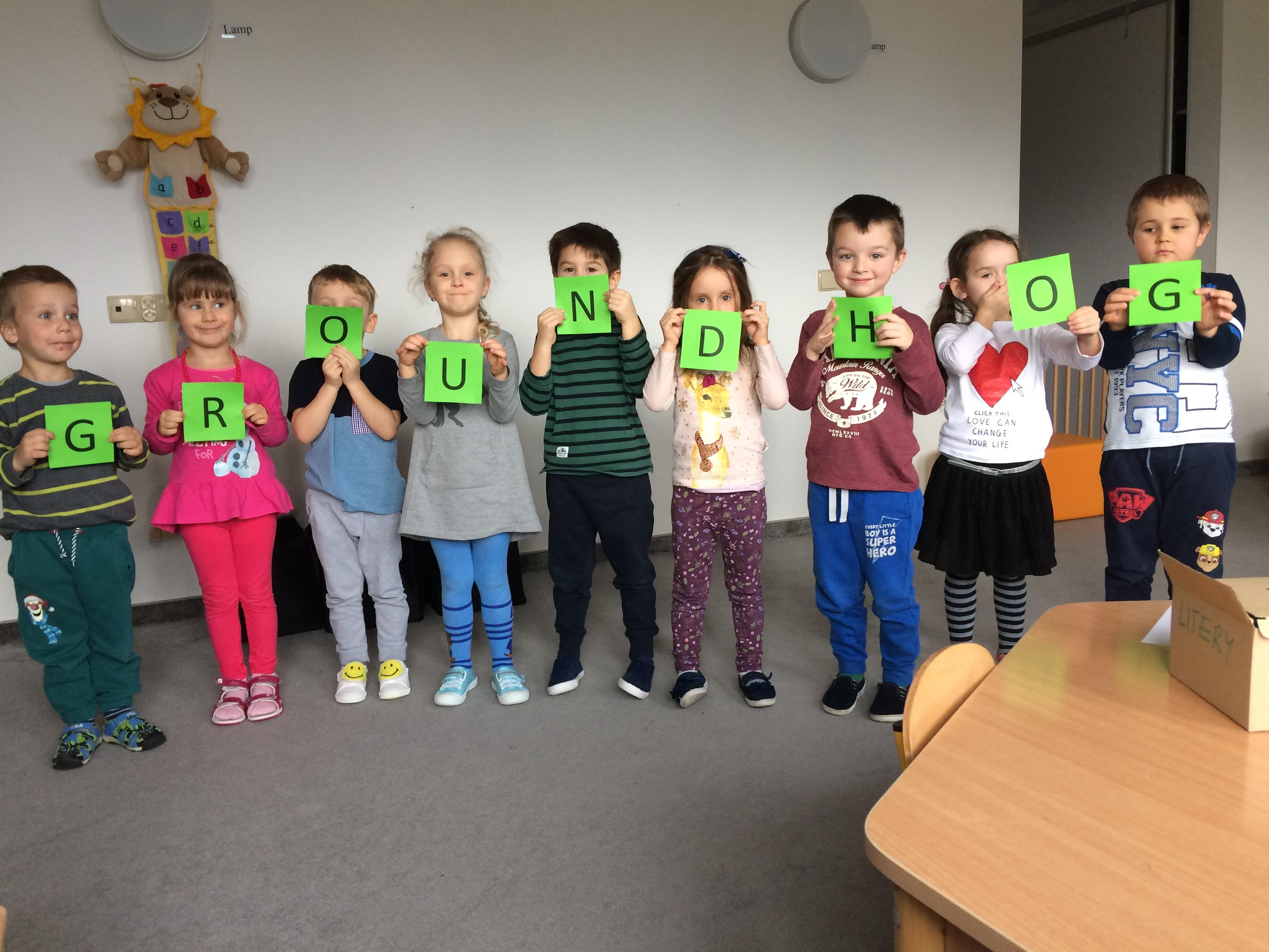 Dzień świstaka – przedszkole i żłobek Wieliczka – Tomaszkowice