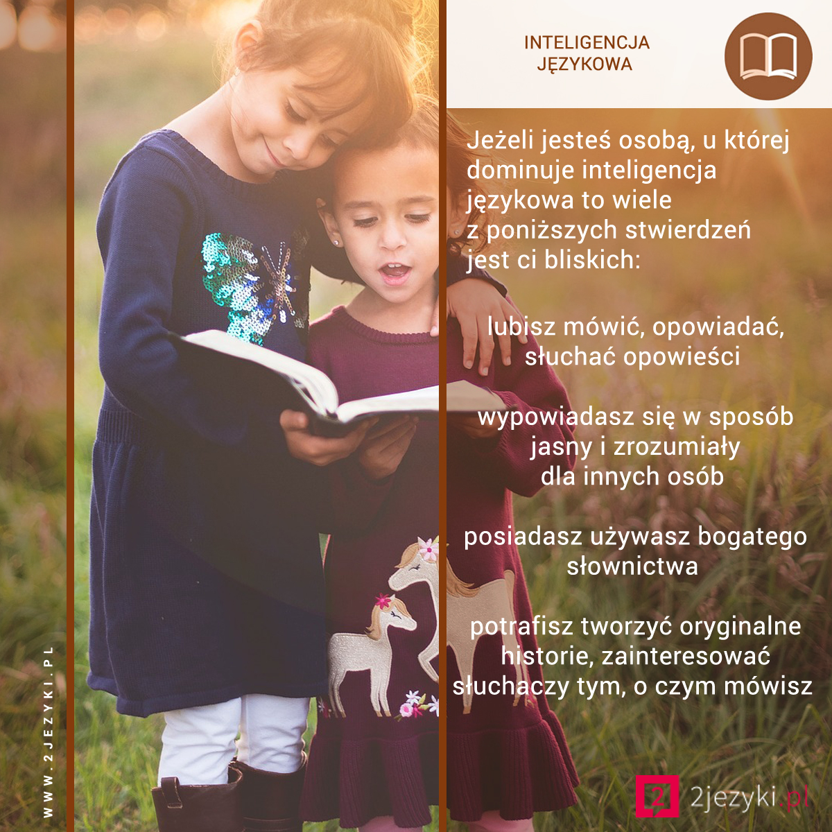 Rozwijamy inteligencję językową w przedszkolu i żłobku 2 języki