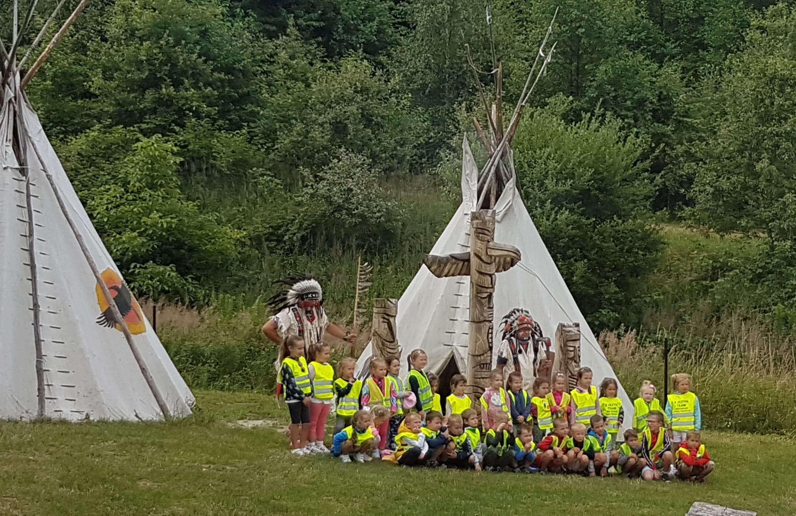 Wycieczka do wioski Indian Arapaho
