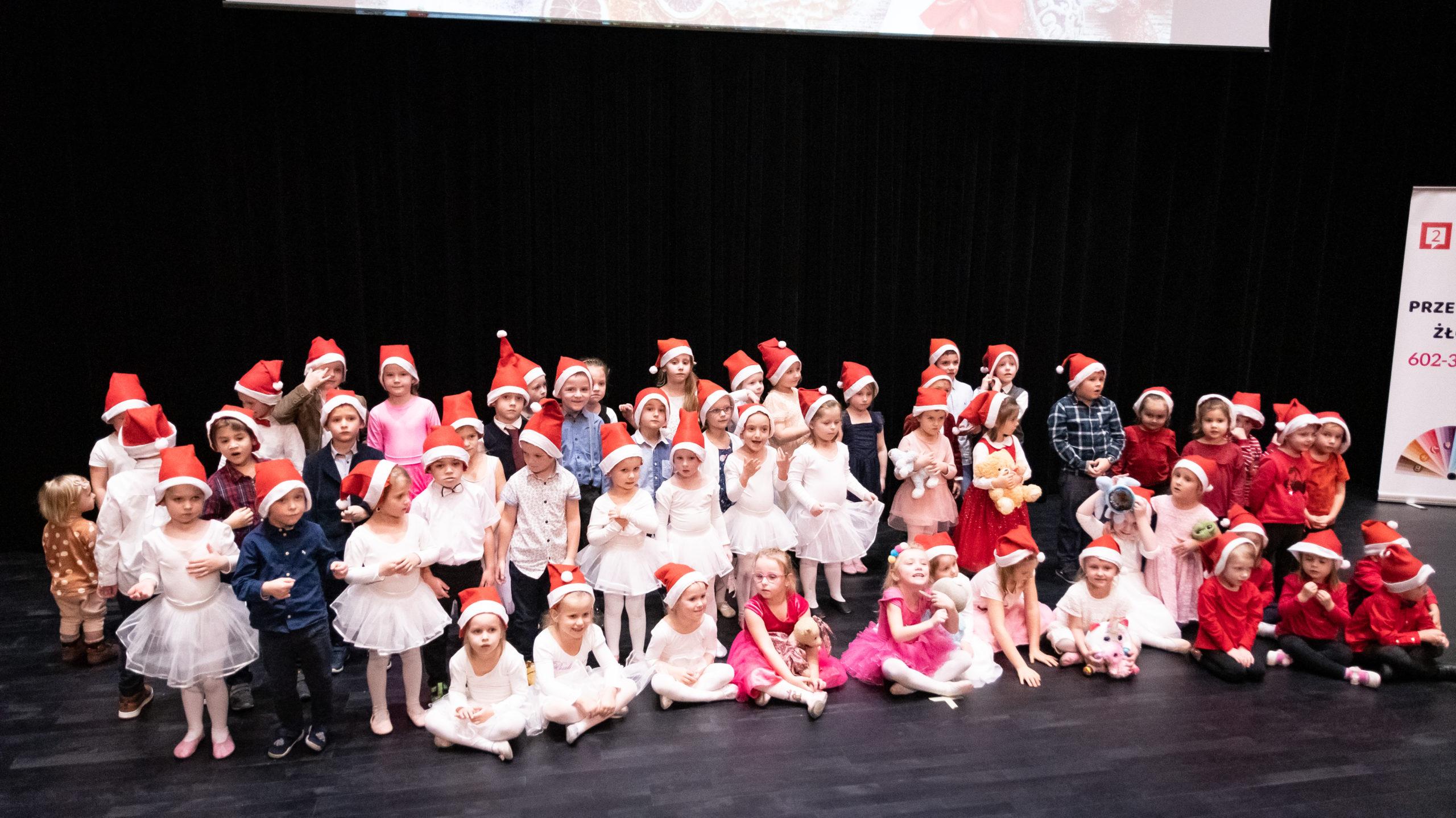 Christmas Show w przedszkolu Wieliczka – Tomaszkowice