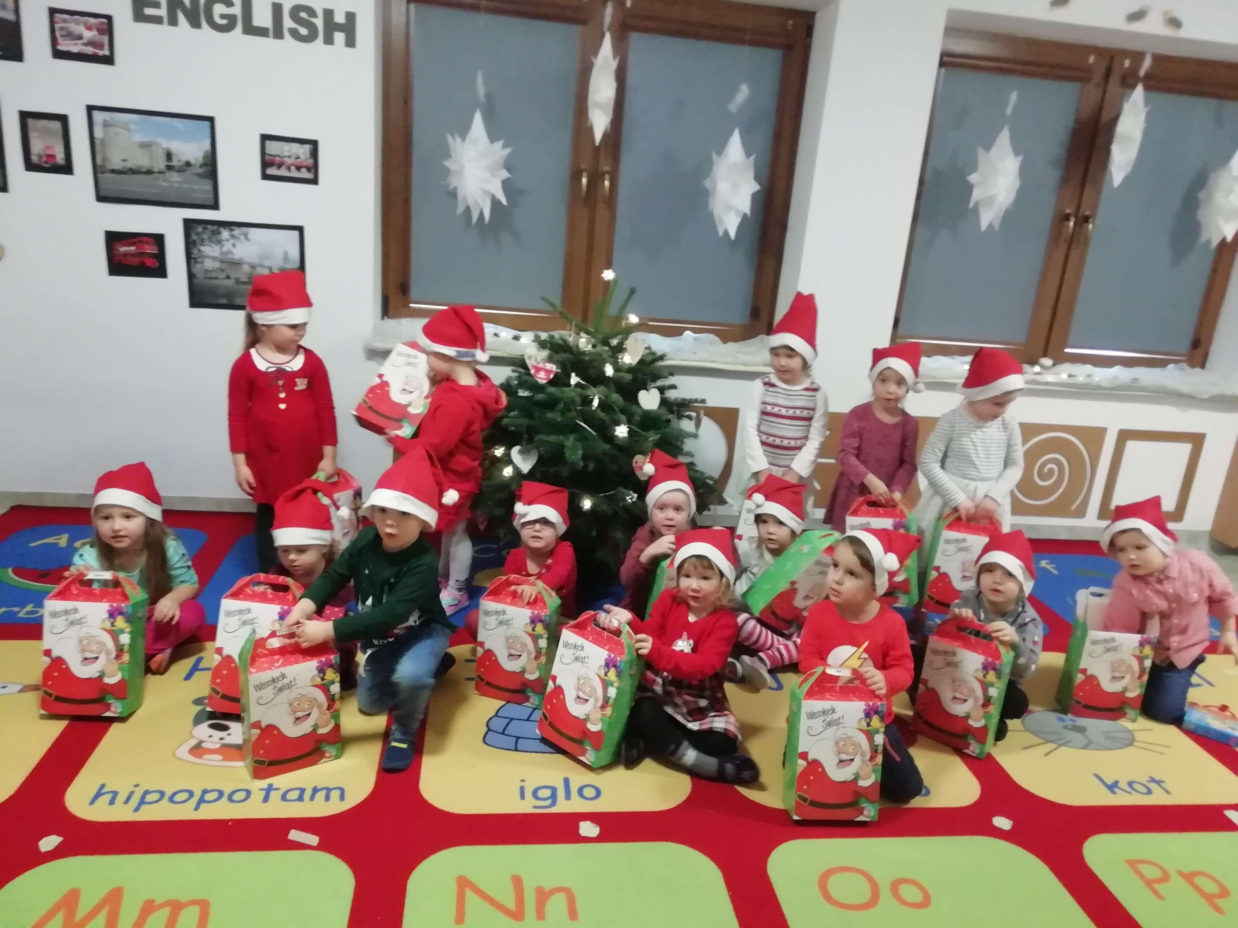 Santa Claus is coming …